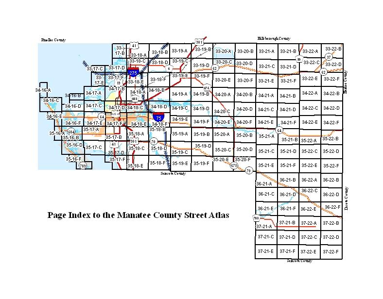 Street Atlas Manatee County